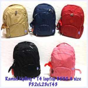 ransel 8590. polos + T4 laptop