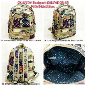 CK 3770# Backpack SALVADOR 6R -  Detail E