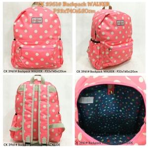 CK 3961# Backpack WALKER - Polca.Peach